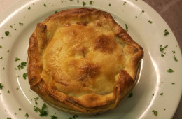 Classic Steak Pie at the Blacksmiths Arms, Millhouse Green